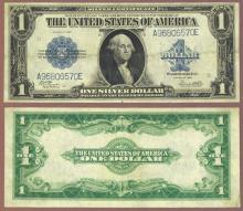 1923 $1.00 FR-238 Large US Silver Certificate