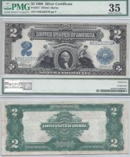 1899 - $2.00 FR-257 Large US Silver Certificate PMG Choice Very Fine 35