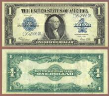 1923 $1.00 FR-237 Large US Silver Certificate