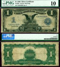 1899 $1.00 FR-229 US large size silver certificate