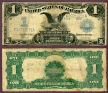 1899 $1.00 FR-234 US large size silver certificate