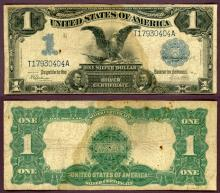 1899 $1.00 FR-236 US large size silver certificate