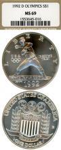 "1992-D Olympiad $ MS-69 ""Baseball"""