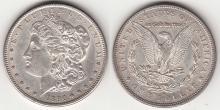 1890-CC $ Morgan Silver Dollar Carson City Mint