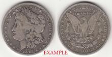 1892-O $ Morgan Silver Dollar