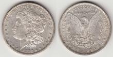 """1880-O $ VAM-48 Hang Nail """"TOP 100 VAM"""" Morgan Silver Dollar"""