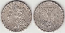 1896-S $ Morgan Silver Dollar