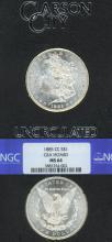 1885-CC $ NGC MS 64 GSA Caron City Mint silver dollar,  lowest minted Caron City Mint Morgan Silver Dollar