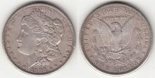 "1900 $ ""TOP 100 VAM"" Us Morgan silver dollar Vam-24"