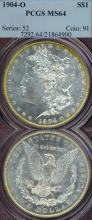 1904-O $ US Morgan Silver dollar PCGS MS 64