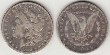 "1900-O/CC $ ""TOP 100 VAM"" US Morgan silver dollar"