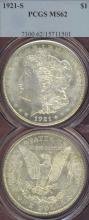 1921-S $ US Morgan silver dollar