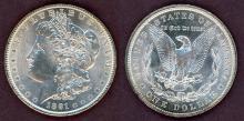 1891 $ US Morgan silver dollar