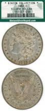 1882-O US morgan silver dollar from the famous Binion Silver Dollar Collection