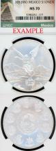 2013 1oz Mexico i ounce silver libertad NGC MS 70