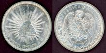 1898 Mo/AM Peso Mexico collectable silver peso
