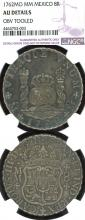 1762 MO/MM 8 Reales Mexican spanish colonial collectable silver coin