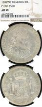 1808 MO/TH 8 Reales collectable Mexican silver coin