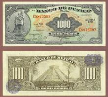 1974 1000 Pesos Mexico