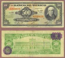 1965 500 Pesos Mexico