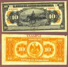 1913 10 Peso Mexico