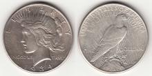 1934-S $ Peace Silver Dollar