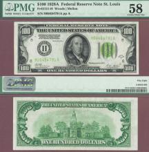 1928-A $100 FR-2151-H US small sized federal reserve note