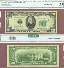 "1950-E $20 FR-2064-B* ""STAR"" US small size federal reserve note"