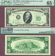 1950-A - $10 *STAR* Fr-2011-H* US small size federal reserve note