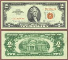 1963 $2 *STAR* FR-1513* US Legal Tender Note