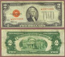 1928-D $2 STAR Note FR-1505* US Small Size Legal Tender