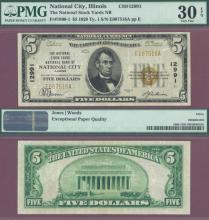 Illinois 1929 $5.00 Type 1 FR-1800-1 Charter 12991 US small size national bank note
