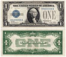 1928-A $1 US small size silver certificate