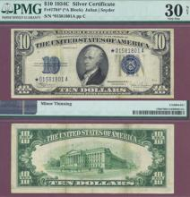 "1934-C $10 ""STAR"" FR-1704*"