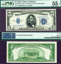 """1934-A $5 FR-1651M* """"STAR"""" Mule"""