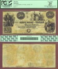 Republic of Texas - $20.00 A6