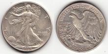 1938-D Walking Liberty Half Dollar, US silver half dollar