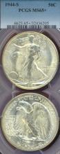 1944-S 50c MS 65+ Walking Liberty Half Dollar