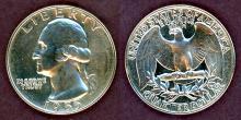 1955 25c Proof US washington silver quarter