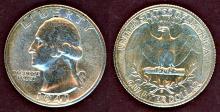 1941-S 25c US Washington silver quarter